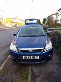Ford Focus Style TD 08 Diesel 1.8l Estate, 11 months MOT, 1 previous owner, drives well.