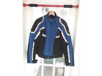 Frank Thomas ladies motorcycle jacket, size medium will fit size 14
