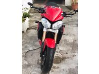 TRIUMPH SPEED TRIPLE WITH LOW MILEAGE - CHEAP