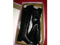 Brand New Knee Length boots size 5