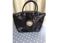 PVC black bag £10 Accessorize bag £15