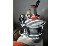 plasters top load mixer and alloy light weight tressel