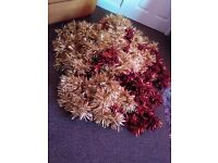 Christmas tinsel..joblot..cost a lot of money when bought.