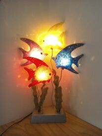 Fish ornamental light