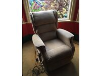 Camelot twin motor rise and recline arm chair