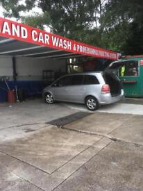 Shelter for sale. Carwash not for sale