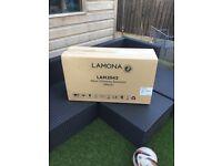 Cookerhood lamona 90cm black brand new still in box
