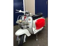Lambretta li 200 regestred as 125