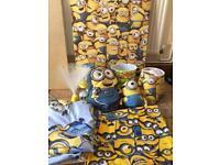 Kids minions bedroom set