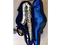 Selmer 1947 SBA tenor saxophone - Silver plated