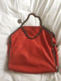 Stella McCartney genuine peach handbag . Good condition,