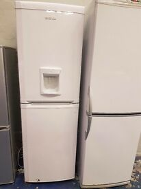 Beko fridge freezer perfect working order and in good condition 6ft tall