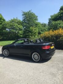Audi S Line TDI convertible, full leather interior, Bose sound system , heated seats