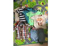 Bundle of baby boys clothes - 6-12 months