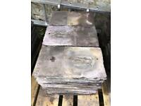 "170 Reclaimed Roof Slates - 13"" x 7"" - UK Delivery"