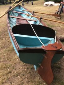 16 ft rowing boat/skiff