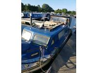 Norman 22 Cabin cruiser for sale or possibly rent. With outboard.