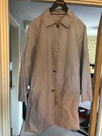Tommy Hilfiger ladies stripped Mac coat