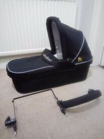 Out N About 360 Double Carry Cot and Adapter