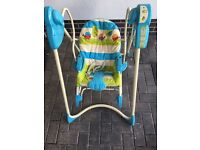 Baby swing and seat