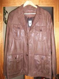 Leather Jacket - never worn
