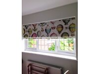Homesew. Soft furnishings hand made for your home. Curtains.Roman blinds.