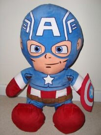 New Captain America Marvel Cuddly Toy 20 inches
