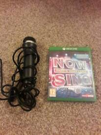 Xbox one now that's what I call sing game & mic