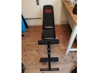 Weight Bench INCLINE DECLINE Adjustable Dumbbell Lifting Ab Crunch Exercise