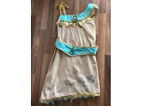 Disney store Pocahontas dress and cape 5/6