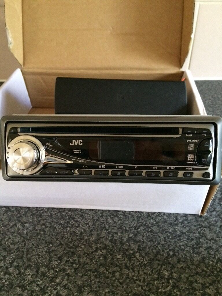 Jvc car stereo kd-g331 CD player, manual included, removable front