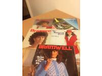 Bramwell Knitting Machine Books