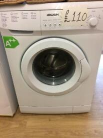Bush washing machine in perfect and nice condition now only 110£