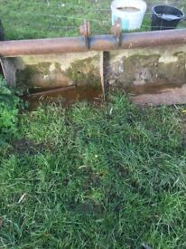 45mm pin digger bucket, ditching, grading, ground works, farming