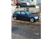 BMW 1 SERIES 2005 116i Sports 5 Door Hatchback Grey £2295