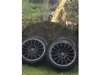 Alloy wheels 5x112 fitment