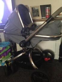 Pram/pushchair (mothercare orb)