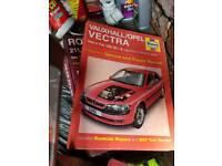Vauxhall vectra b car manual