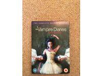 Vampire Diaries, Season 2 Complete DVD Box Set. Very Good Condition.