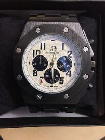 AP Audemar Piguet Royal Oak Watch Black/ Automatic Movement / Postage Available
