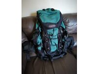 Freedom Trail Kestrel 75L Rucksack in excellent condition