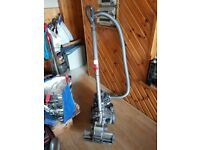 black Dyson DC19 Cylinder Hoover bagless new motor fitted 1 months warranty just with th