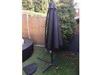Grey umbrella 3x3