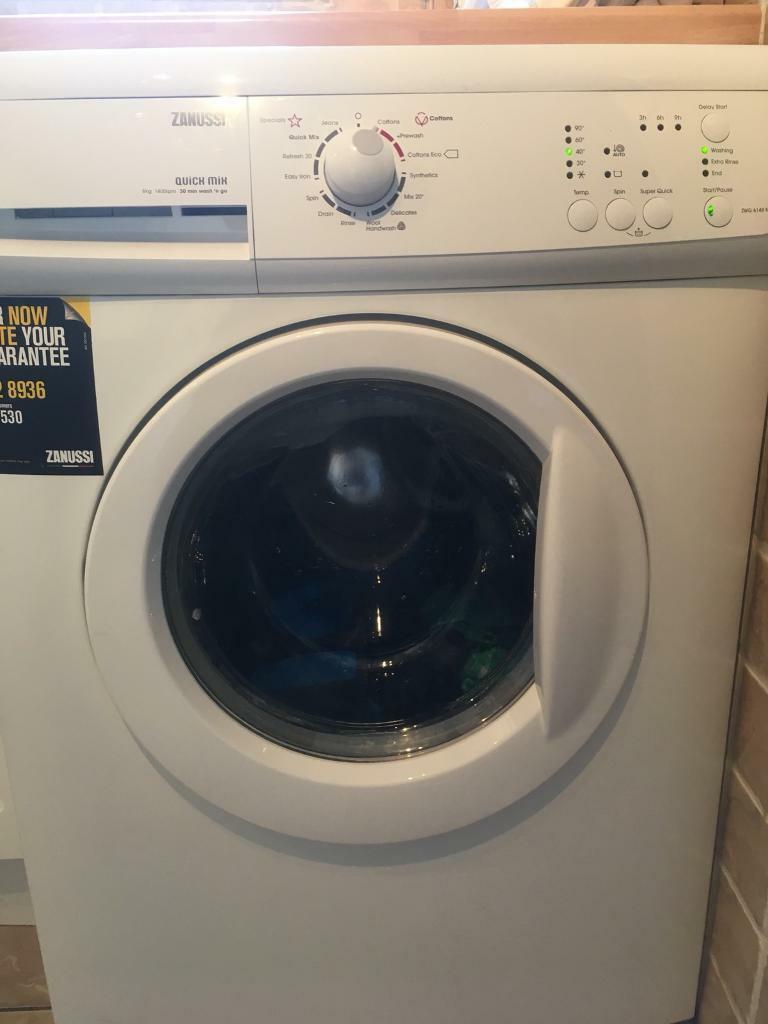 Zanussi 7KG washing machine.