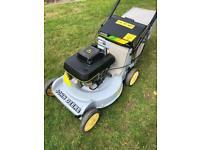 Kawasaki powered John Deere commercial lawnmower 5speed clutch blade mulch /bag mower fully serviced