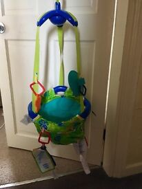 New baby door bouncer £7 ono