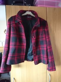 Alex and Co red and black jacket