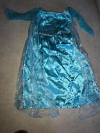 Girls Elsa fancy dress