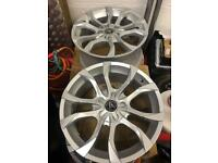 Alloys wheels x4 18 inch