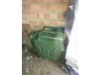 Metal Jerry cans 2 x 20L